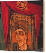 The Usher Hhn 25 Wood Print
