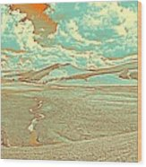 The Valley Of Winding Snake River Wood Print