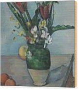 The Vase Of Tulips Wood Print