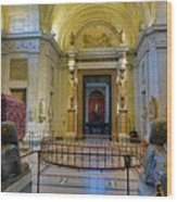 The Vatican Museum In The Vatican City Wood Print