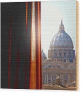 The Vatican Wood Print