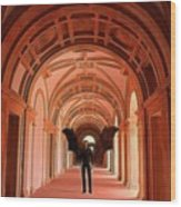 The Vatican Vampire Wood Print