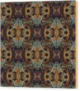 The Veil Linen Wood Print