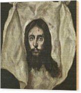 The Veil Of Saint Veronica Wood Print