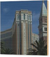 The Venetian, Las Vegas Wood Print