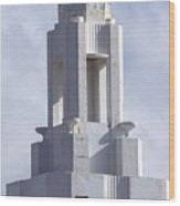 The Versailles Hotel Tower - Miami Beach Wood Print