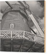 The Viby Windmill Wood Print