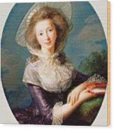 The Vicomtesse De Vaudreuil Wood Print