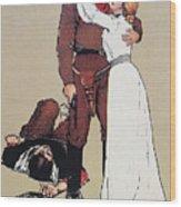 The Victors Prize, 1905 Wood Print