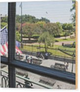 The View - Jackson Square Wood Print