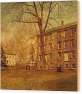 The Village - Allaire State Park Wood Print