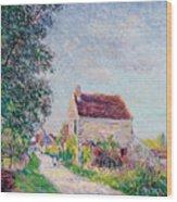 The Village Of Sablons Wood Print