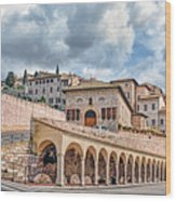 The Village Of St. Francis Of Assisi Wood Print