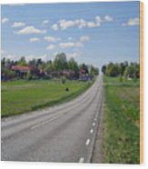 The Village Of Stjarna Wood Print