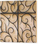 The Vine Wood Print