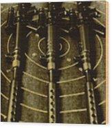 The Vintage Sniper Rifle Range Wood Print