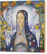 The Virgin,  Joseph Stella Wood Print
