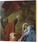 The Virgin Of Calvary Wood Print by Jules Eugene Lenepveu