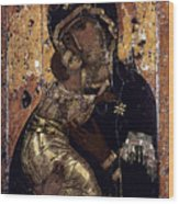 The Virgin Of Vladimir Wood Print