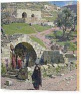 The Virgin Spring In Nazareth Wood Print