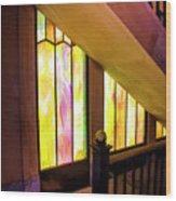 The Vista Stairway Wood Print