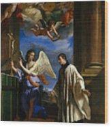 The Vocation Of Saint Aloysius Gonzaga Wood Print