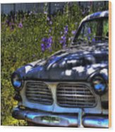 The Volvo Wood Print