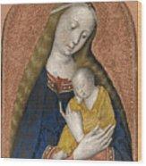 The Vrigin And Child Wood Print