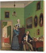 The Waagepetersen Family Wood Print
