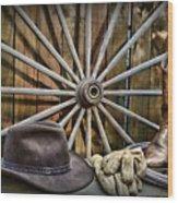The Wagon Master Wood Print