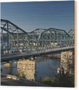 The Walnut St. Bridge Wood Print