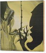 The Wand Of Destiny Wood Print by Lisa Leeman