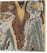 The Wanderers Wood Print