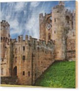 The Warwick Castle Wood Print
