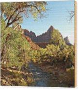 The Watchman Wood Print