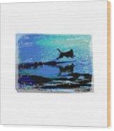 The Water Dog  2 Wood Print