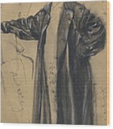 The Waterproof Coat Of General Moltke Wood Print