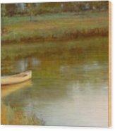 The Water's Edge Wood Print by Lori  McNee
