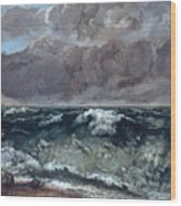 The Wave 1867  Wood Print