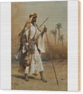 The Way From Sinai To Cairo Wood Print