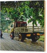 The Way To Tanjung Uma Wood Print