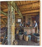 The Way We Were - The Blacksmith 2 Wood Print
