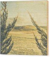 The Wayback Meadow Wood Print