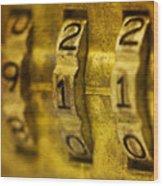 The Web Of Nine Eleven  Wood Print