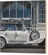 The Weddingmobile Wood Print
