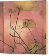 The Weeds Wood Print