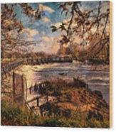 The Weir At Teddington Wood Print