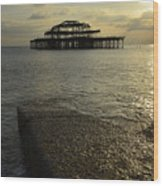 The West Pier Wood Print
