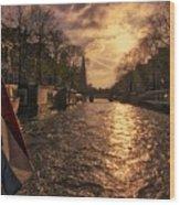 The Westerkerk Amsterdam Wood Print