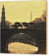 The Westertoren Amsterdam Wood Print